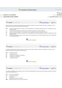 PLANEJAMENTO DE RECURSOS HUMANOS ex 6 a 10