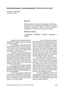 MOTTA_Administração e participação