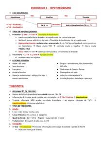 ENDOCRINO 1 - HIPOTIREOIDISMO