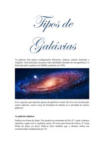 Tipos de Galáxias