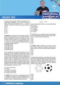 SIMULADO ENEM MATEMATICA 3