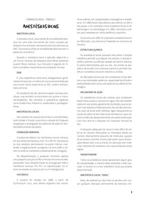 RESUMO FARMACOLOGIA BÁSICA - PROVA 2 (4º SEMESTRE MEDICINA UFMS)