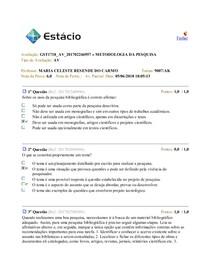 GST1718 AV 201702246957 » METODOLOGIA DA PESQUISA