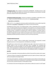 PRINCÍPIOS, FONTES E FINALIDADE DO PROCESSO PENAL