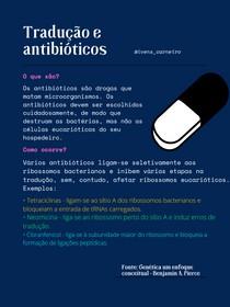 Tradução e antibióticos