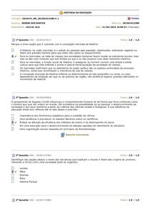 BDQ ProvaHISTÓRIA DA EDUC