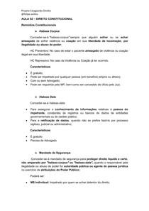 AULA 02- Direito Constitucional - Curso Estágio TJMG