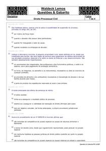 WL-Questões-12-Direito Processual Civil-038-PCI