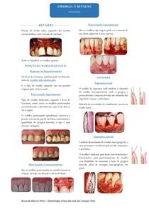 Resumo - Cirurgia a Retalho (Periodontia)