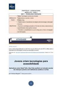 PORTFÓLIO licenciaturas   MANUAL MODULO B FASE 2