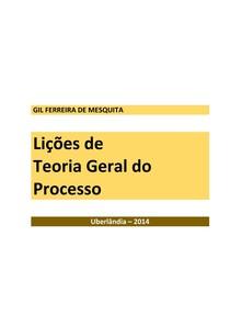 Teoria Geral do Processo Gil Mesquita
