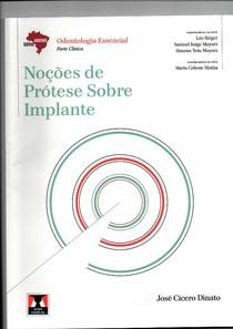 Livro Noções de Prótese Sobre Implante - ABENO