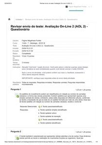 AOL 2 Histologia