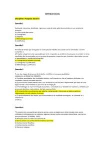 SERVIÇO SOCIAL_PESQUISA II