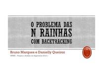 O Problema das n Rainhas (Backtracking)