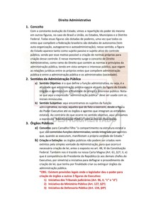 Introdução ao Direito Administrativo