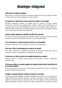Estudo Dirigido (Respondido) - Patologia Geral