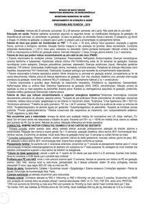 protocolo pre natal rondonópolis MT