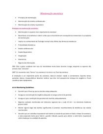 Anestesiologia Veterinária I
