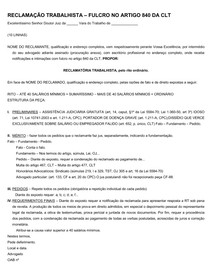 PEÇAS ESTRUTURAS- TRABALHISTA - 2º FASE