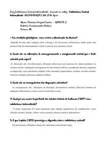 Mariana Vergani - Perguntas Cateterismo Vesical