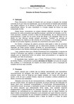 Estudos de Direito Processual Civil - com testes