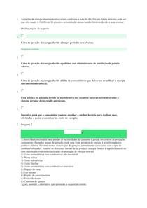 AVALIAÇÃO ON-LINE 3 ( AOL) QUESTIONÁRIO