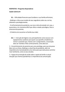 RESPOSTAS - saúde coletiva III