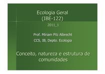 aula comunidades 1 Eco Geral 2011_1