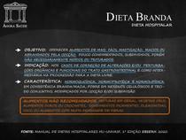DIETAS HOSPITALARES - DIETA BRANDA
