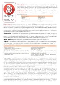 Síndrome Nefrótica - fisiologia e QC