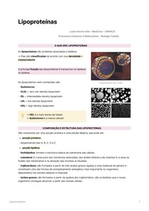 Lipoproteínas