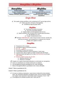 Hemoglobina e Mioglobina docx