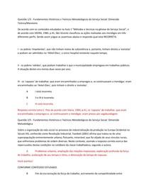 APOL 01-  Fundamentos Históricos e Teóricos Metodológicos do Serviço Social: Dimensão Teórica/Marxismo
