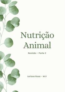 Revisão Nutrição Animal Parte 2