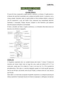 Toraz exame físico 1