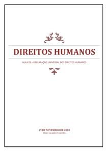 Direitos Humanos - AULA 03