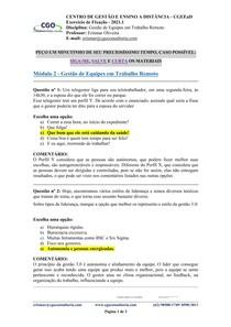 Gestão de Equipes em Trabalho Remoto - M02