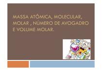 Massas Atômicas e Moleculares
