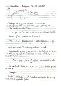 Notas de aula e exercícios resolvidos - Cálculo II