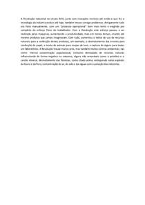Discursiva 1 Revisão Industrial Ulbra Administração de Meio Ambiente