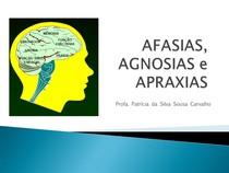 Afasias, Agnosias e Apraxias