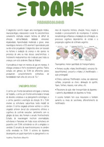 TDAH - Farmacologia