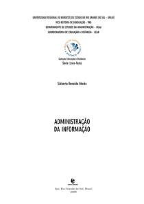 Apostila UNIJUÍ - Administração da informação