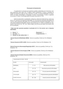 Questionário Escoliose Lateral Amiotrofica - ALSAQ-40