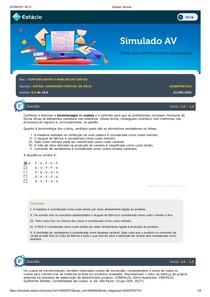 CONTABILIDADE E ANÁLISE DE CUSTOS_Simulado_AV