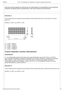 UNIP   Universidade Paulista   ED Resmat 09set16 (6ºsemestre)