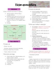 Farmacocinética resumo