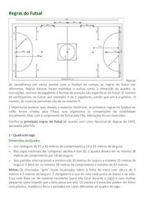 A Regras do Futsal - Topicos de Fisica Aplicada 87b511d6c8075