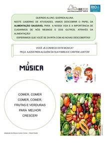 Atividades Classe especial - Alimentação saudável